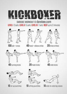 Kickboxer Workout:  Conquer Fear. Instill Power. OTZMA wwwotzmaselfdefense.com
