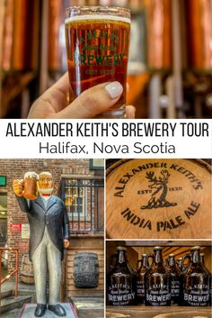 From walking along the beautiful waterfront to visiting the Alexander Keiths brewery here are the top 10 things to do in Halifax Nova Scotia Canada. East Coast Travel, East Coast Road Trip, East Coast Canada, Nova Scotia Travel, Canada Cruise, Canada Trip, New England Cruises, Canadian Travel, Canadian Rockies