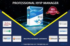 Earn money simply with HYIP business. EC HYIP Script makes you launch your HYIP Website instantly within few steps. Integrated with multiple payment gateways and adjustable investment program settings.