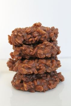 fudgy no-bake cookie #recipe