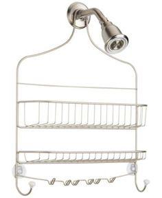 Interdesign Cero Wide Nesting Shower Caddy - Cero Satin