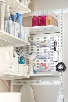 Small Laundry Room Organization Ideas | Kelley Nan Mudroom Laundry Room, Laundry Room Remodel, Small Laundry Rooms, Laundry Room Organization, Laundry Room Design, Small Rooms, Organization Ideas, Storage Ideas, Creative Storage