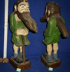 Sammlung Roland Paireder Wal, Nutcrackers, Wood Carvings, Antiquities