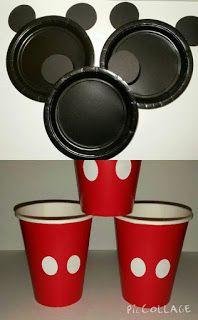 12 ideas para decorar Vasos y platos Fiesta Mickey Mouse Mickey 1st Birthdays, Fiesta Mickey Mouse, Theme Mickey, Mickey Mouse Baby Shower, Mickey Mouse Clubhouse Birthday Party, Mickey Birthday, 2nd Birthday, Birthday Ideas, Elmo Party