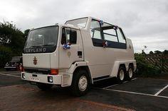 Popemobile 1982 Leyland truck.