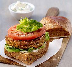 Müller's Mühle: Quinoa-Burger