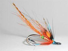 Copper Archies Shrimp  By Windcroft Salmon Flies