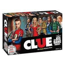 The Big Bang Theory Cluedo (23,46€)