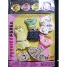 Barbie Fashion Fever Summer Fun Pack (Retired): Toys
