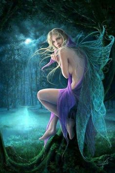 Image shared by Nancy Gale. Find images and videos about beautiful, gif and fantasy on We Heart It - the app to get lost in what you love. Fantasy Girl, Chica Fantasy, Fantasy Art Women, Beautiful Fantasy Art, Beautiful Fairies, Elfen Fantasy, Fairy Pictures, Love Fairy, Fantasy Kunst