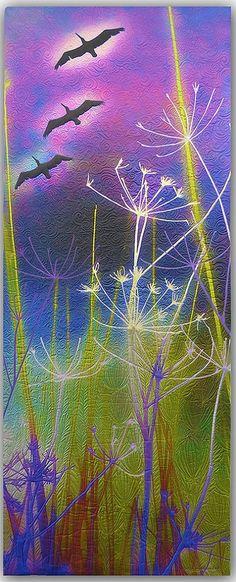 gorgeous quilting Diane Rusin Doran, California Dreaming <3<3<3