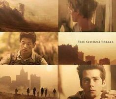 The scorch trials - the maze runner so excited for the movie this September!