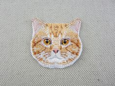 Iron-on or Sew-on Patch  You will get one piece  Patch measures about 5.7x5.7 cm (2.24 x 2.24)  Please note normal delivery would take about 3~4 weeks for most international buyers. If you need more details, please feel free to contact me.