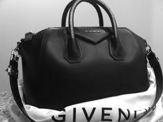 Givenchy Antigona duffel bag.