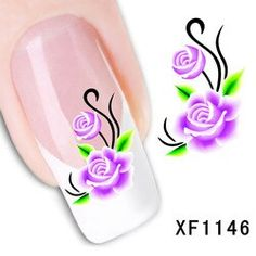 Nail water stickers decals