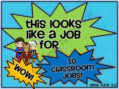 Superhero Jobs! from Fantastic Firsties on TeachersNotebook.com (7 pages)