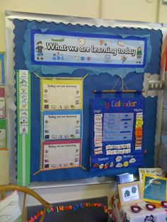 What we are Learning Today Display, classroom display, class display, school, learning, calender, organise, Early Years (EYFS), KS1 & KS2 Primary Resources