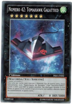 YU-GI-OH! NUMERO 42: TOMAHAWK GALATTICO PRIO-IT092 COMUNE THE REAL_DEAL SHOP