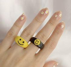 Fimo Ring, Polymer Clay Ring, Fimo Clay, Diy Crafts To Do, Clay Crafts, Diy Clay Rings, Ceramic Cafe, Crea Fimo, Clay Art Projects