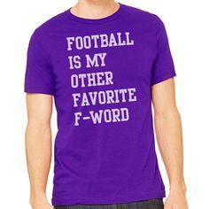 e0e8bdcc56378 Football Is My Other Favorite F-Word Shirt. Got a bit of a potty. Fantasy  LeagueBaltimore RavensHeather ...