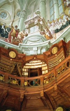 The Eger Lyceum Archdiocesan Library in Eger, Hungary Magical Library, Beautiful Library, Library Architecture, Hungary Travel, Heart Of Europe, Budapest Hungary, Homeland, Bookstores, Beautiful Places