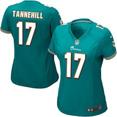 Ryan Tannehill Jersey Women s Nike Miami Dolphins  17 Elite Team Color  Green Jersey  6b724fe15