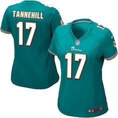 Mens Miami Dolphins Ryan Tannehill Nike Aqua Elite Jersey