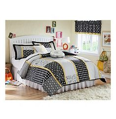 Dot Dot Dot Bedding Collection by Seventeen at www.herbergers.com