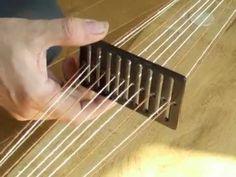 Basic Guide To Using sorazora Mini Rigid Heddle Inkle Weaving, Inkle Loom, Hand Weaving, Youtube Music Converter, Tablet Weaving Patterns, Weaving Projects, Weaving Techniques, Loom Knitting, Tutorials