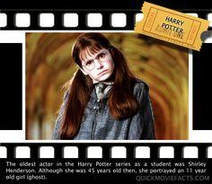 Harry Potter Fact