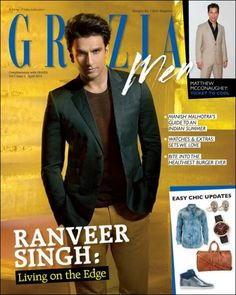 Check out: Ranveer Singh on the cover of Grazia Men
