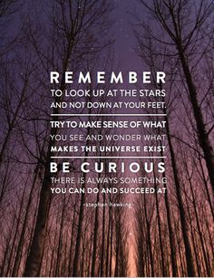 Always Be Curious Stephen Hawking Quotes Meaningful Quotes Stephen Hawking