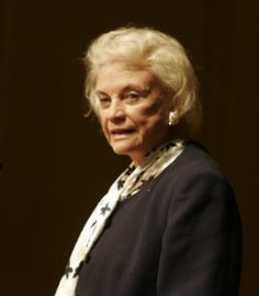 Sandra Day O'Conner, born in El Paso, TX in 1930  supreme court justice