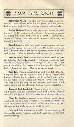San Anselmo cook-book Retro Recipes, Old Recipes, Vintage Recipes, Cookbook Recipes, Home Health Remedies, Natural Health Remedies, Herbal Remedies, Cold Remedies, Herbs For Health