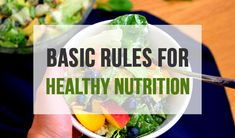 We get really too much advice about healthy nutrition even on a daily level and this results only with confusion and misconception. Not mentioning all together just doesn't make it easier as it already isn't when we want to change some nutrition habits and start our healthy lifestyle. It doesn't have to be this way, not even close. Here are some basic rules that should make you conscious of what you are eating what is most important.