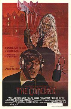The Comeback (1979) film poster @comebackstudio