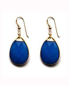 BLUE JADE AZIN EARRINGS