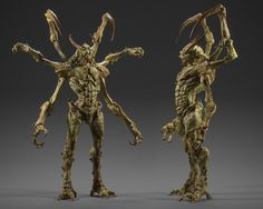 concept artist from Japan Creature 3d, Creature Design, Dark Creatures, Fantasy Creatures, Fantasy Races, Fantasy Art, Fantasy Inspiration, Character Inspiration, Character Concept