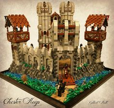 LEGO Castle Chester Keep | Flickr - Photo Sharing!