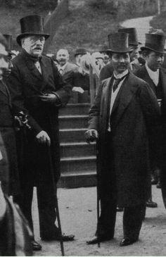 King Chulalongkorn with Bismarck, 02. Sept. 1897 Friedrichsruh