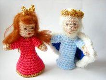 Fingerpuppen (Kasperletheater): Prinzessin und König