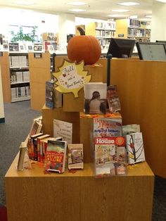 Fall into a great book at the library
