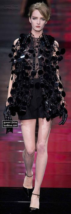 Armani Privé Haute Couture Fall Winter 2014-15 Collection