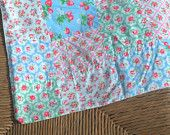 Patch work  cot, crib or pram blanket