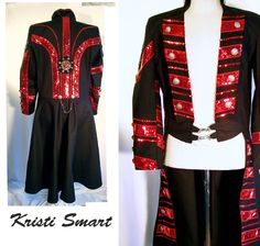 Magicians coat by Kristi Smart