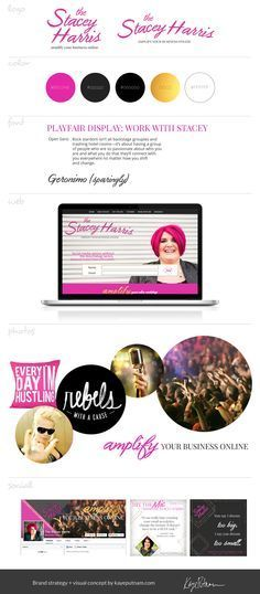 Brand board / brand strategy / branding design / logo design by Kaye Putnam. Stacey is a total Maverick Brand Archetype. Love how we nailed her personality in this design & strategy! Design Social, Web Design, Brand Archetypes, Jungian Archetypes, Branding Design, Logo Design, Branding Ideas, Brand Strategist, Archetypes
