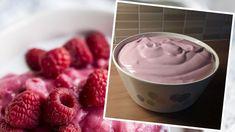 Vispipuuro keittäjä Maaritin ohjeella - katso kuohkea ohje! - Kotiliesi.fi Crafts Beautiful, Raspberry, Sweet Tooth, Deserts, Good Food, Food And Drink, Pudding, Ice Cream, Treats