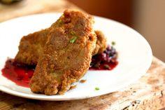 Garam Masala Fried Seitan (ala Foreign Cinema's Fried Chicken)