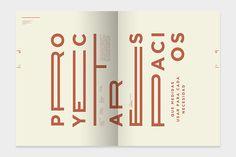 BANDO | revista vuelco #typography #design #inspiration