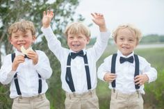 These adorable ring bearers are just the start of this stunning Southern wedding at Pawleys Plantation with a gold and cream color palette Morganite Engagement, Rose Gold Engagement Ring, Diamond Wedding Rings, Flower Girls, Art Nouveau, Myrtle Beach Wedding, Ring Bearer Outfit, Forever Brilliant Moissanite, Wedding Planning